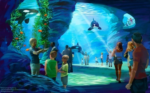 SeaWorld Makes a Big Splash with Blue World Project