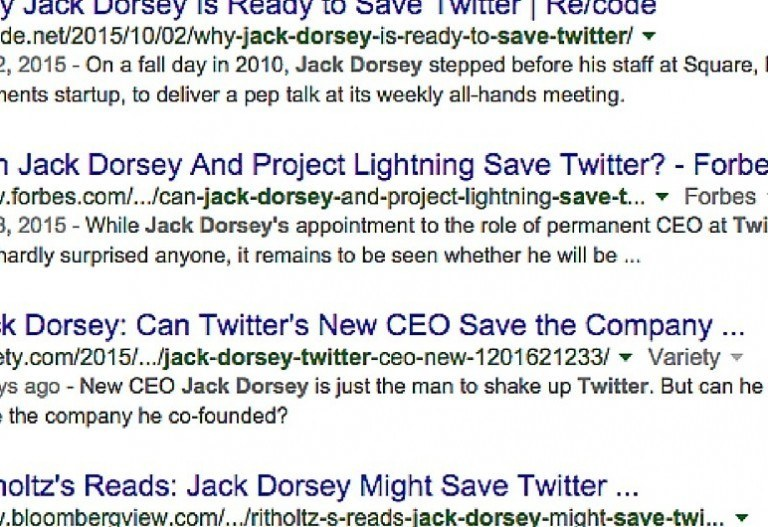 Hey, Jack Dorsey? We Have Some Thoughts