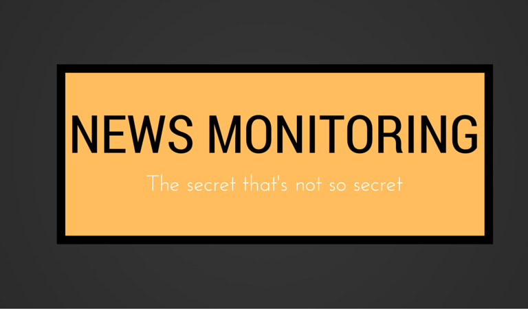 The Power of News Monitoring